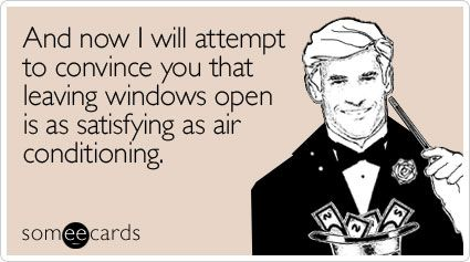 Always keeping windows shut is one of the worst office behaviours!