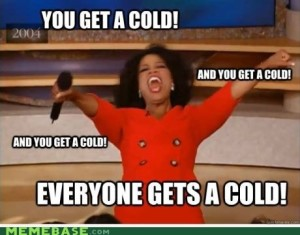 Everyone gets a cold - Showing up sick at work is one of the worst office behaviours!