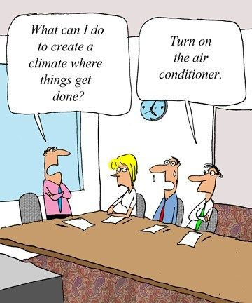 Turning off the air conditioner to save money is one of the worst office behaviours!