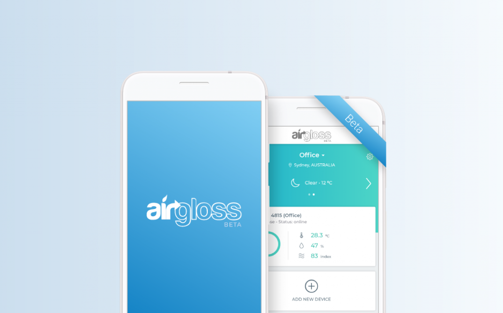Airgloss Beta Program will be accessible shortly to the first selected testers.
